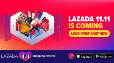 Optimalkan Festival Belanja Lazada 11.11 untuk Penuhi Kebutuhanmu