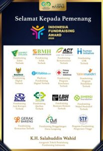 pemenang Indonesia Fundraising Award 2020