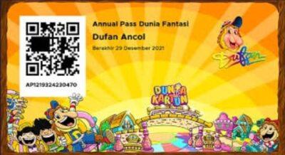 E-Card Annual Pass Dufan